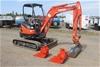 2014 Kubota U25 Mini Excavator