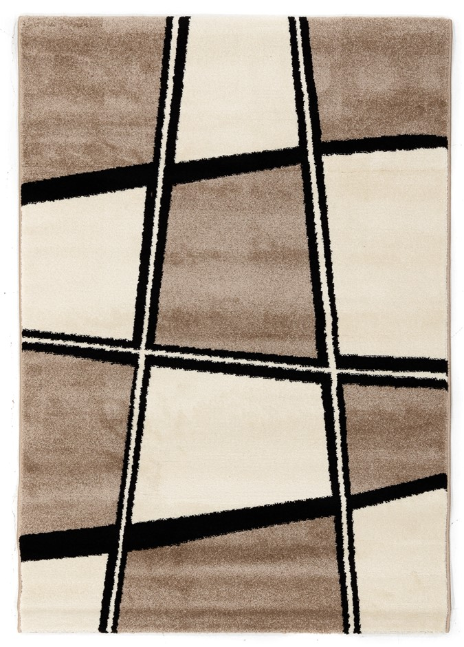 Machine Made Shaggy Rug Size (cm): 110 x 160