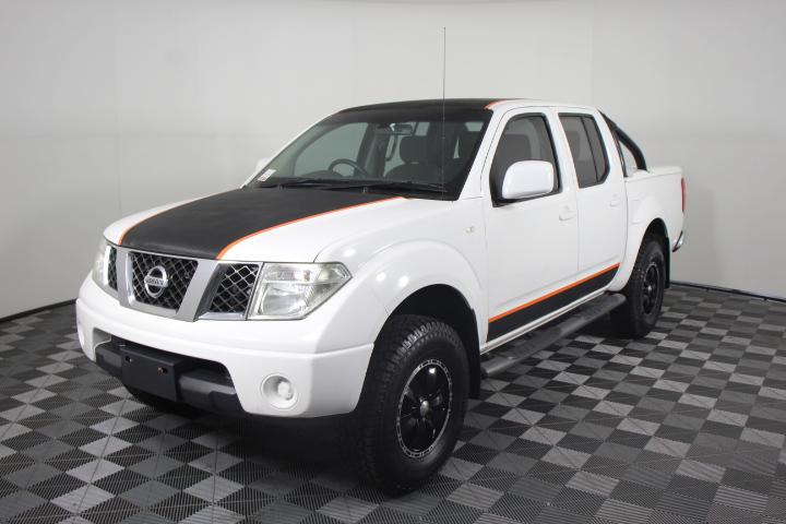 2011 Nissan Navara ST (4x4) D40 Turbo Diesel Automatic Dual Cab