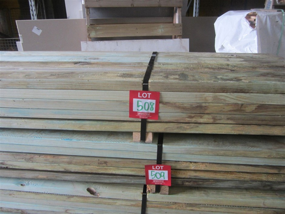 Pack of 120mm x 35mm T2 Termite Treated Pine.