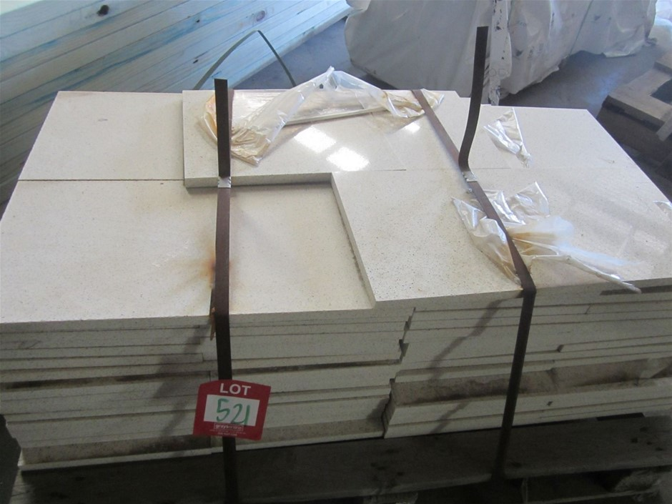 Pallet of 60 Caesarstone Pavers. 600mm x 300mm x 20mm