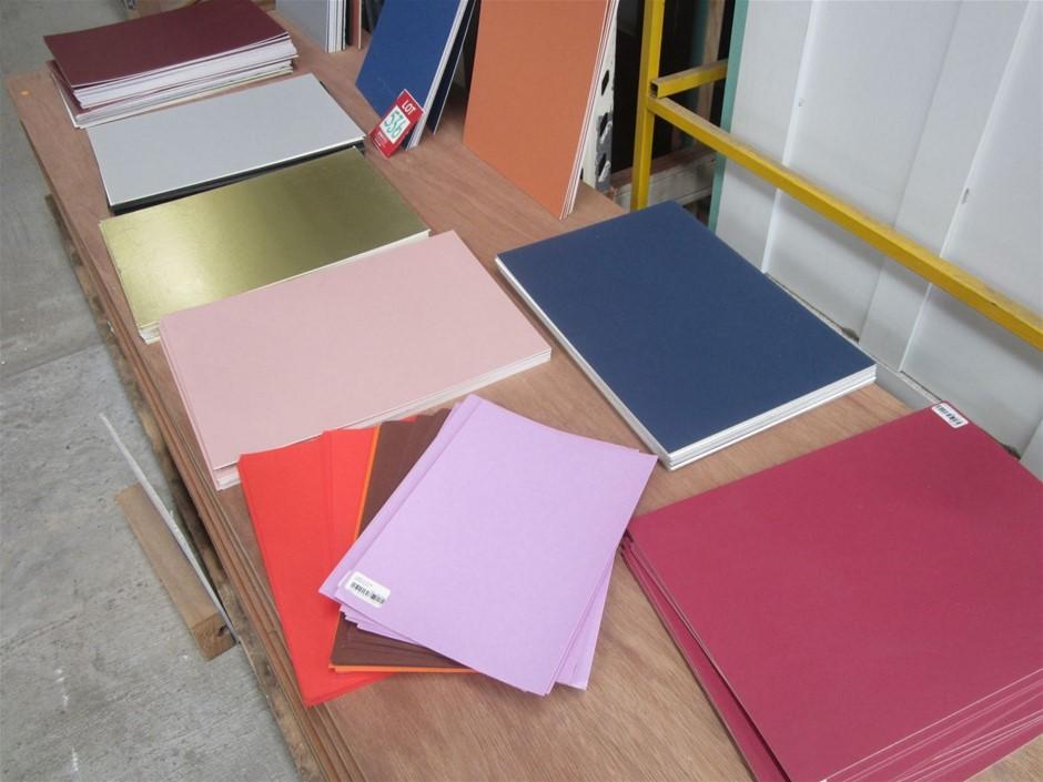 Quantity of Cardboard Sheets