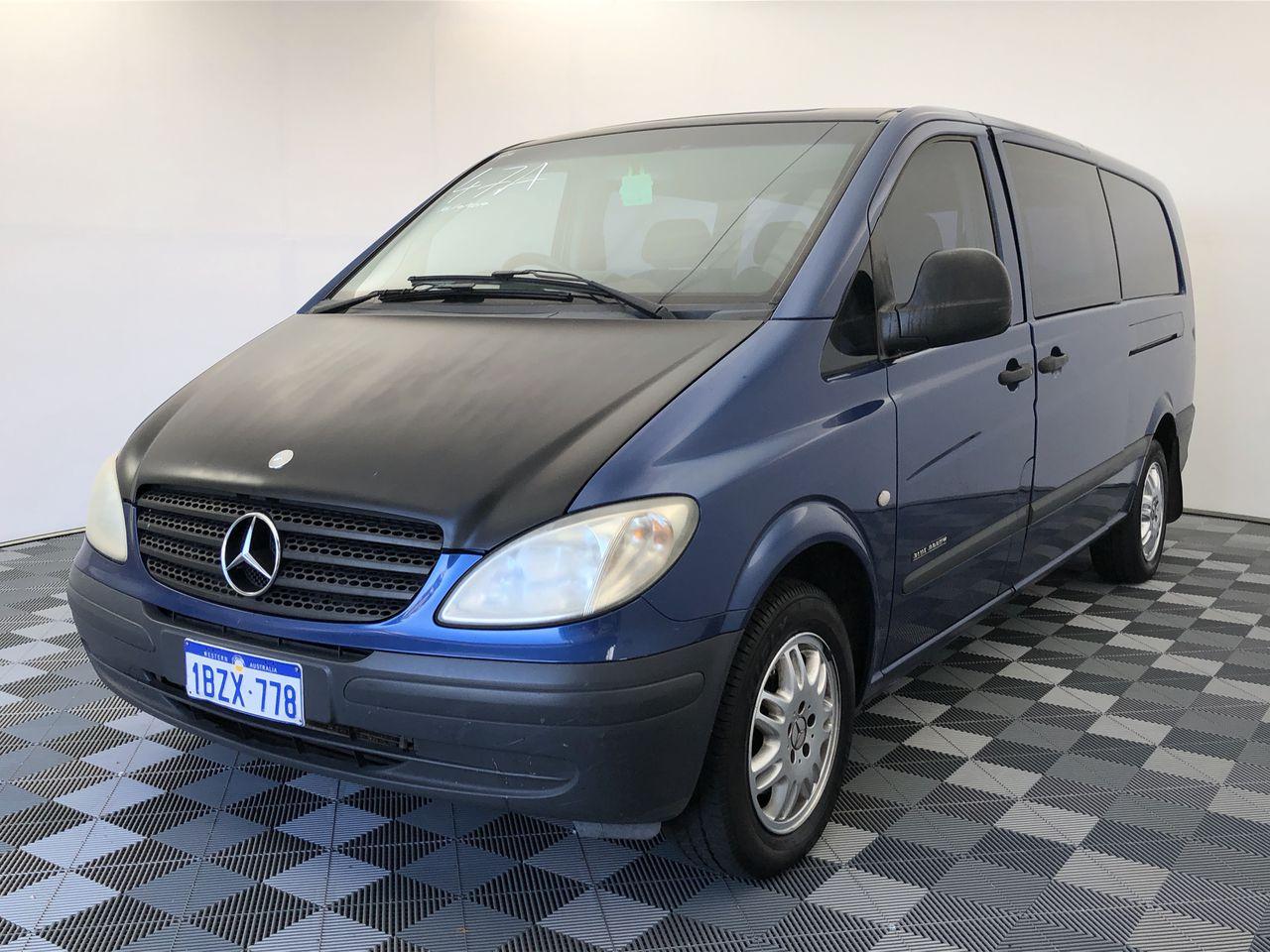 2005 Mercedes Benz Vito 115CDI Extra Long Turbo Diesel Auto Crew Cab Van