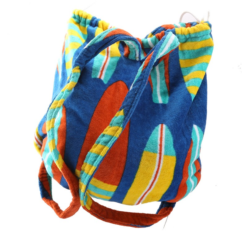 Convertible Backpack Beach Towel. Surf Board Design. Buyers Note - Discount