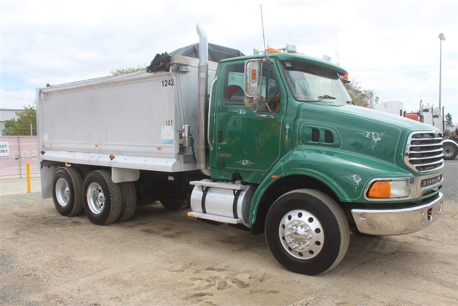 2005 Sterling LT9500 Automatic C12 CAT Turbo Diesel 6 x 4 Tipper Truck