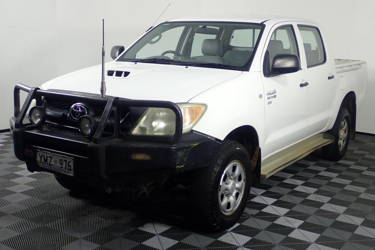2007 Toyota Hilux SR (4x4) Turbo Diesel Manual Dual Cab
