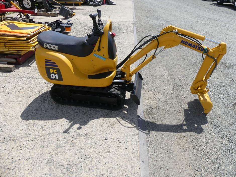 Komatsu PC01-1A Excavator