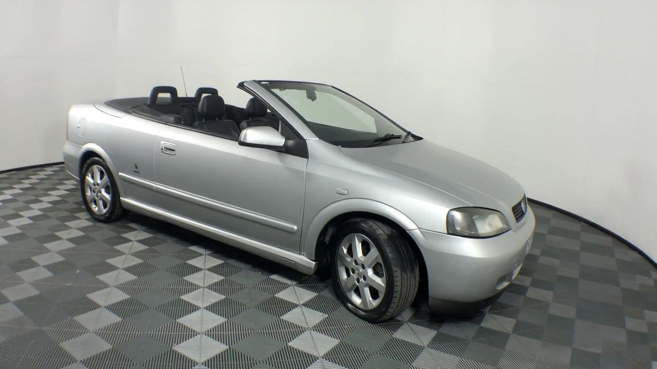 2003 Holden Astra Convertible TS Manual Convertible