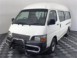 2003 Toyota Hiace Commuter Diesel LH184R