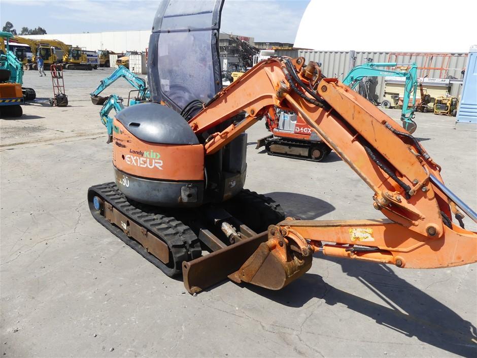 HITACHI EX15UR Excavator