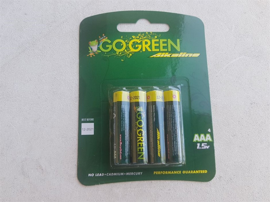 48 X AAA Household Alkaline Battery Top quality Alkaline Batteries are