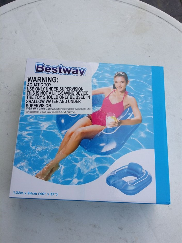 Bestway Inflated Flip-Pillow Pool Lounge Bestway Flip-Pillow Lounge, I