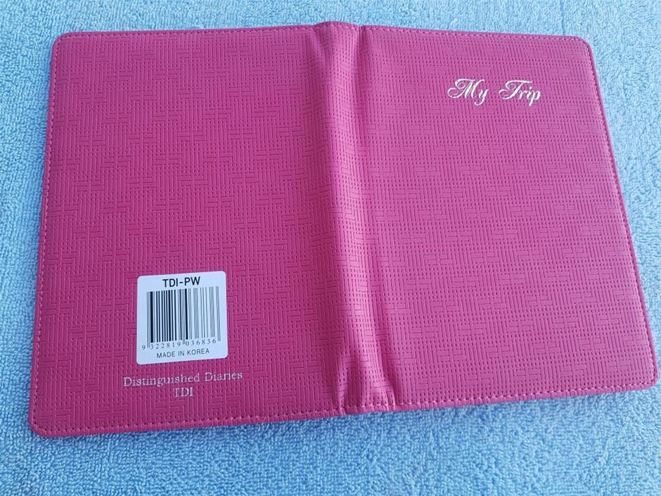 18 X Travel Diary TDI-PW, Made in Korea, contain all information yo