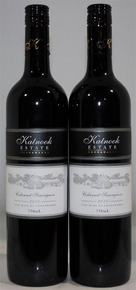 Katnook Estate 'Coonawarra' Cabernet Sauvignon 2010 (2x 750ml)