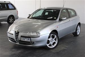 2003 Alfa Romeo 147 2.0 Twin Spark Manua