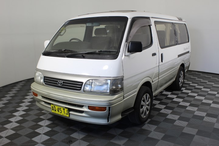 2007 (Import) Toyota HiAce 3.0 Turbo Diesel Automatic Van