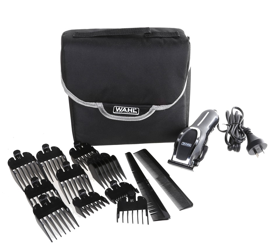 WAHL HOME PRODUCTS Deluxe Hair Cutting Kit. N.B. Missing small clippers. (S