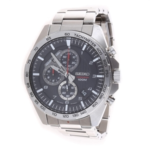 SEIKO Men`s Chronograph 45mm Watch with