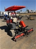 Jacobson Ride on 3 Gang Mower