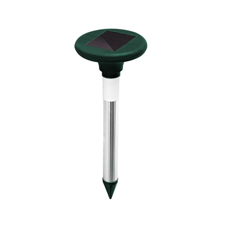 10X Solar LED Snake Repeller Multi Pulse Plus Ultrasonic Pest Repellent