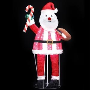 Christmas Motif Lights Santa Foldable 12