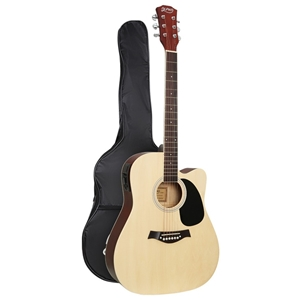 "Alpha 41"" Inch Electric Acoustic Guitar"