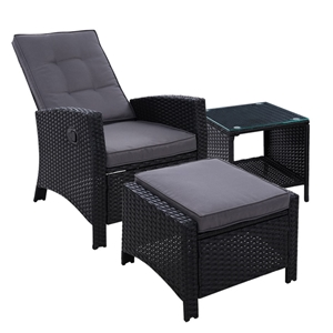 Gardeon Outdoor Setting Recliner Chair T