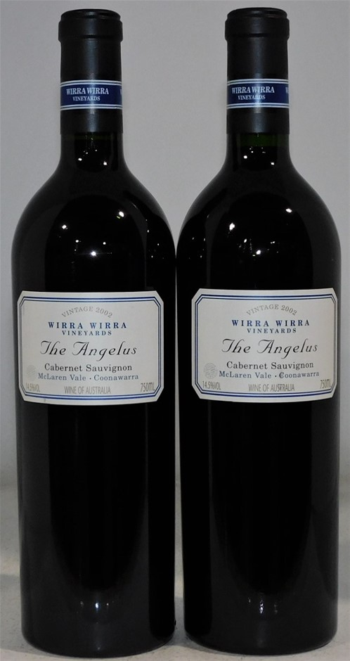 Wirra Wirra 'The Angelus' Cabernet Sauvignon 2002 (2x 750mL)