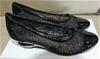 Taranto Amilie Black Shoe, size: 37