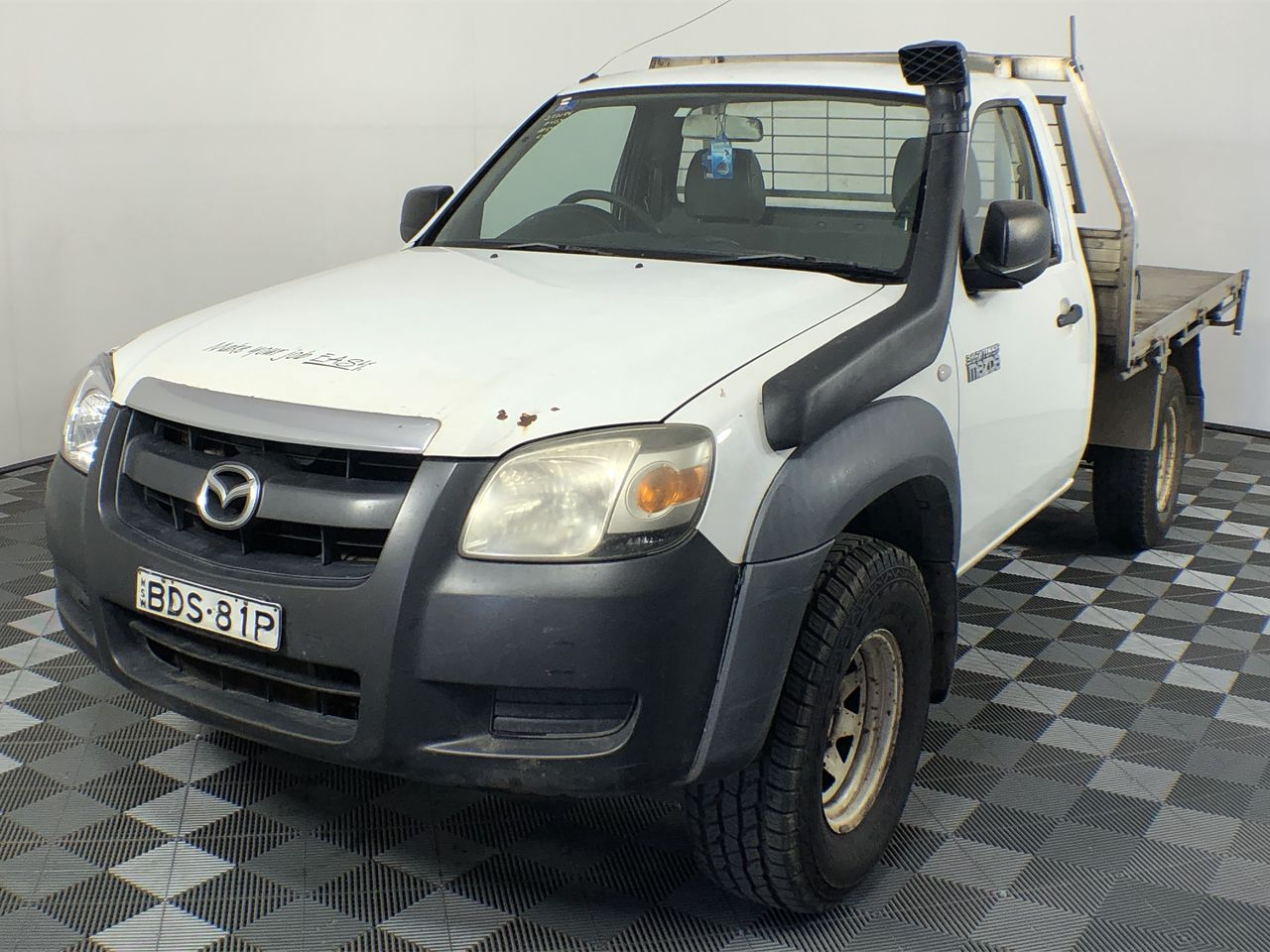 2007 Mazda BT-50 DX B3000 4x4 Turbo Diesel Manual Cab Chassis