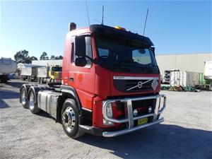 2012 Volvo FM11 EURO 5 450 6 x 4 Prime M