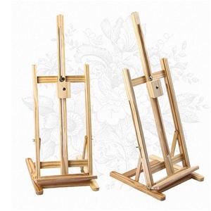 Tabletop Easel Wood Studio H-Frame Art D
