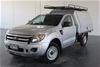 2013 Ford Ranger XL 2.2 (4x2) PX Turbo Diesel Manual Cab Chassis