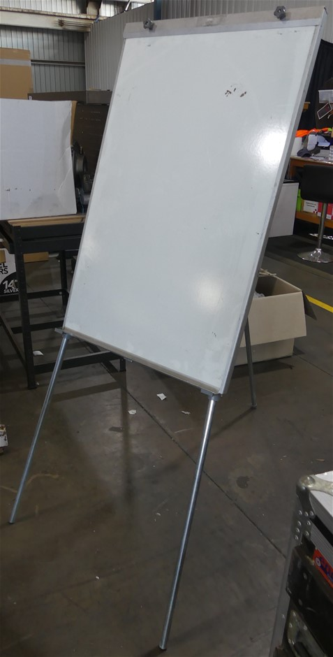5 x Assorted Whiteboards with Tri-legs