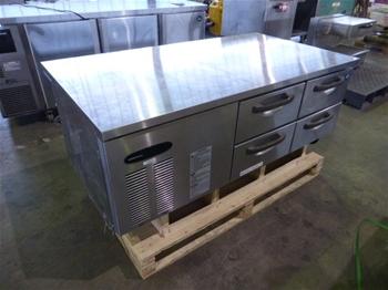 Hoshizaki Stainless Steel 4 Drawer Fridge