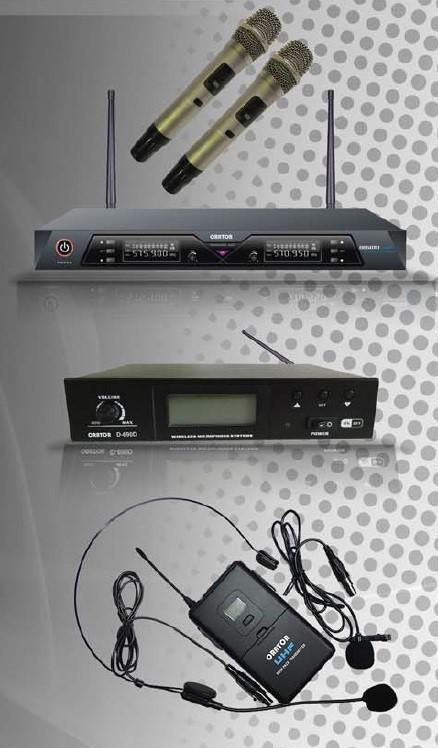 Orator UHF 1-Channel True Diversity 100PLL Mic Kit