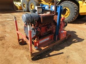 2008 Sykes Skid Mounted Diesel Water Pum