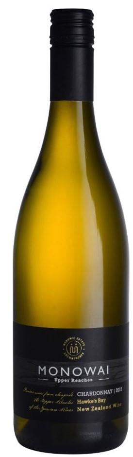 Upper Reaches Chardonnay 2015 (6 x 750mL) Hawkes Bay, NZ
