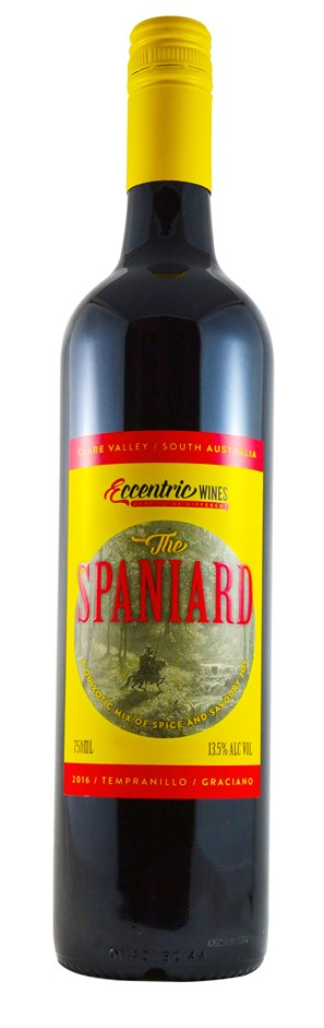Eccentric Wines The Spaniard Tempranillo Graciano 2016 (6 x 750mL) SA