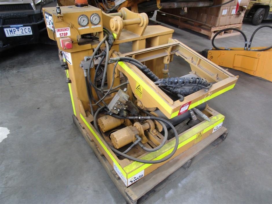 Callan Gas Pipe Hydraulic Rotator