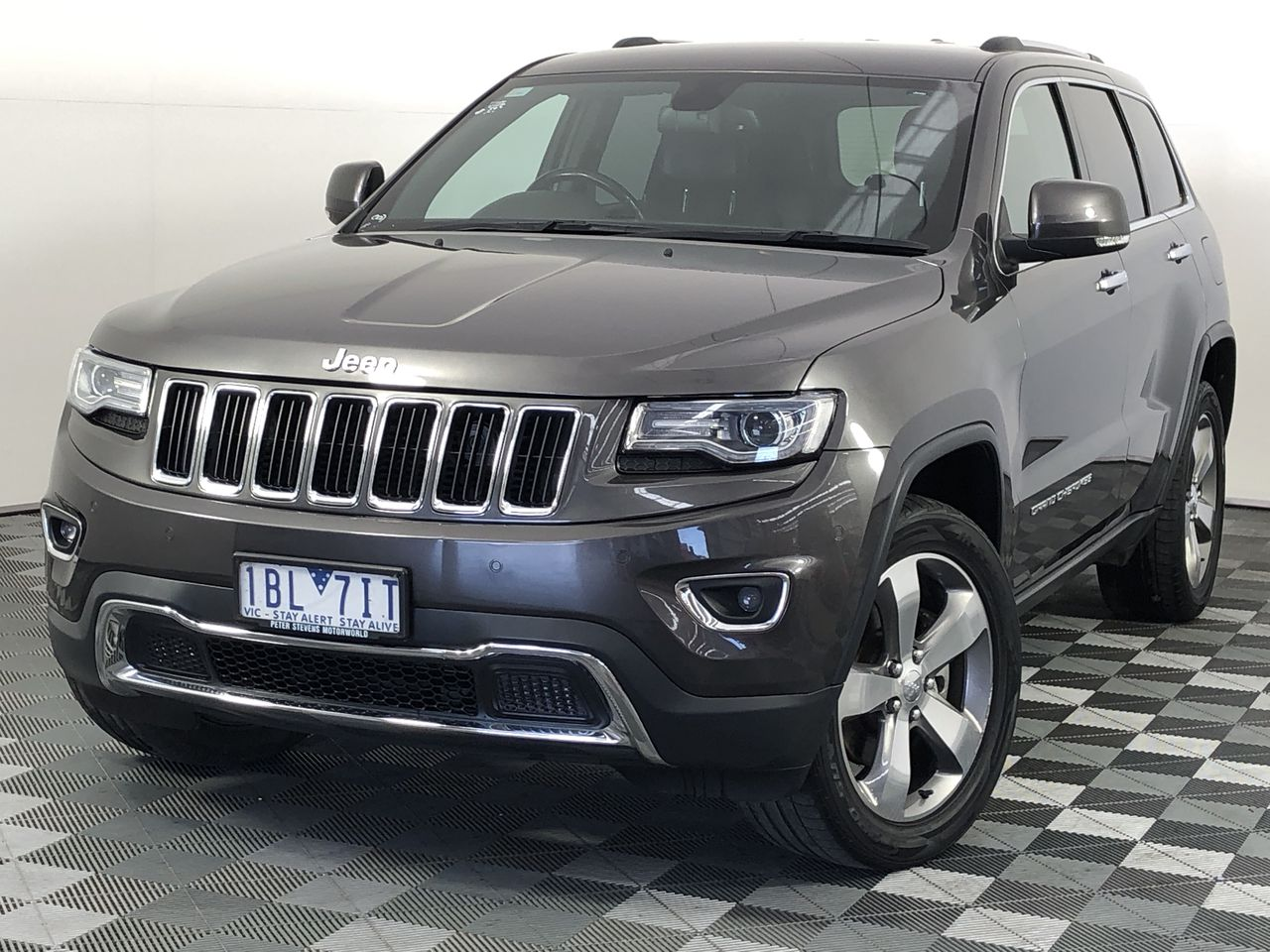 2013 Jeep Grand Cherokee Limited WK Turbo Diesel Automatic - 8 Speed Wagon