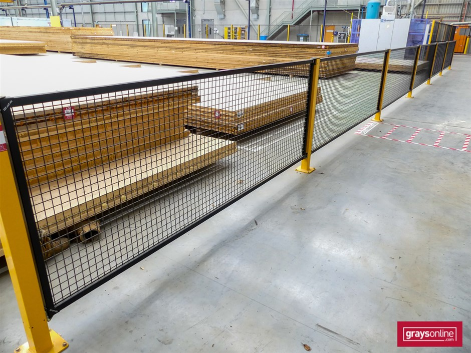 I.S.F. Machine Guard Safety Fencing