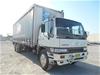 2000 Hino FG 6 x 2 Curtainsider Rigid Truck