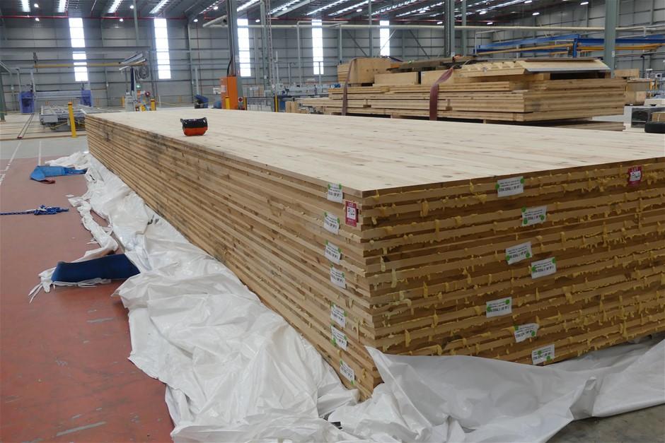 7 x Cross Laminated Timber Panels