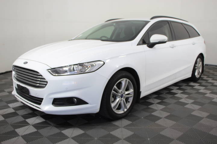 2015 Ford Mondeo Ambiente Turbo Diesel Automatic Wagon