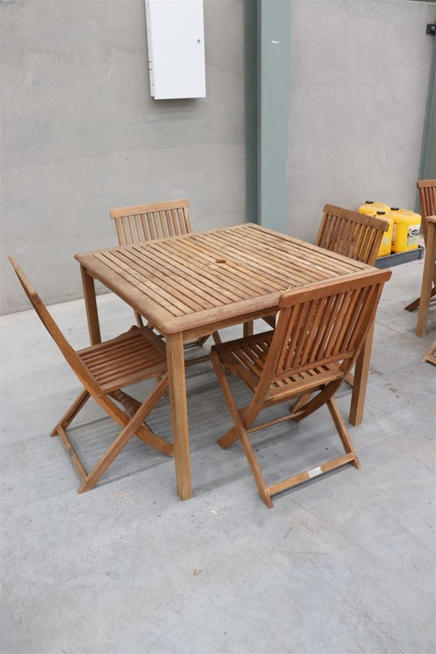 4 Seater Outdoor Table - FSC