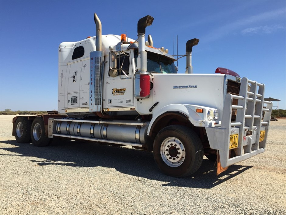 2010 Western Star 6900 FX Stratosphere 6 x 4 Prime Mover