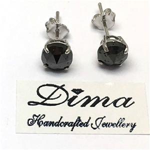 18ct White Gold, 3.82ct Diamond Earring