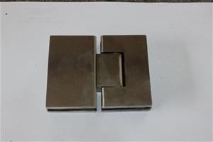 Qty 4 x 316 Stainless Steel Glass to Gla