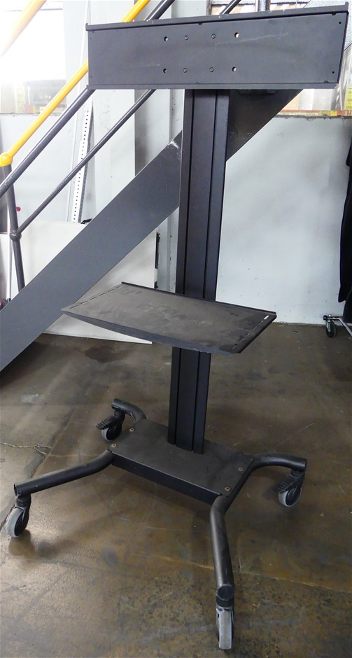 1 x TV Trolley Stand on Wheels